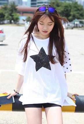 星ボックスティーシャツ