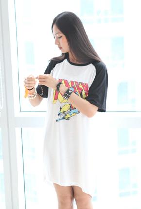 X-MANロングティーシャツ