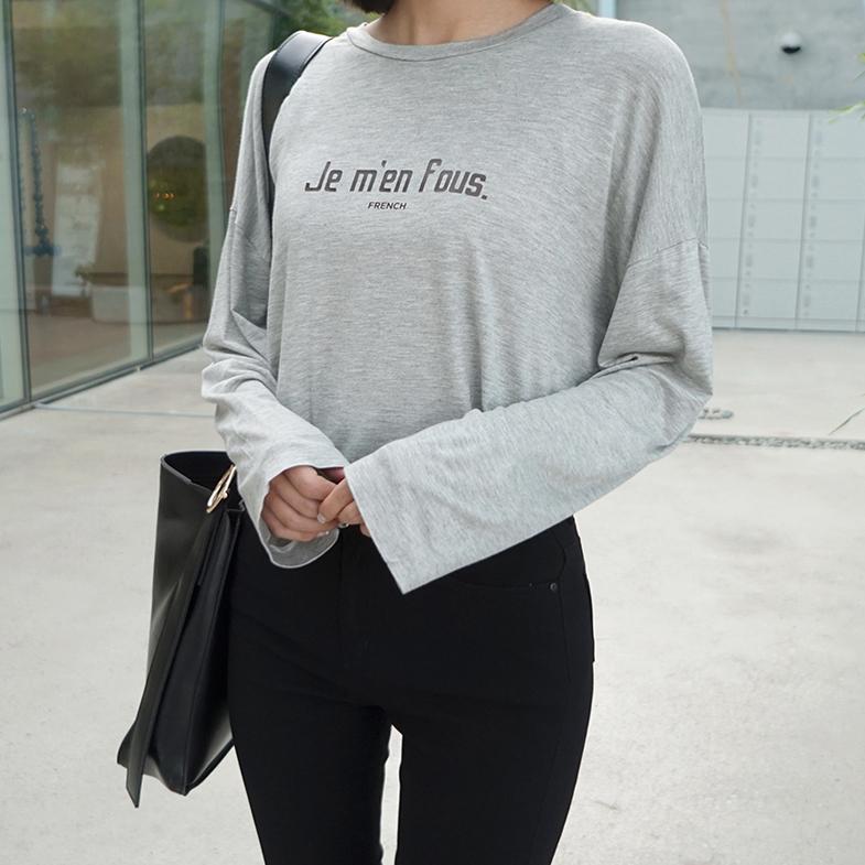 フレンチゆれ長袖Tシャツ<br> <FONT color=#f91305>(3次リオド着)</font>